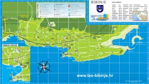 bibinje map
